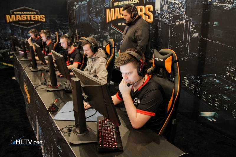 dupreeh at DreamHack Masters Las Vegas 2017 - Day 1