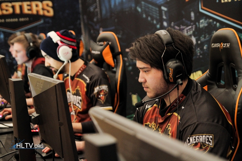 Renegades at DreamHack Masters Las Vegas 2017 - Day 1