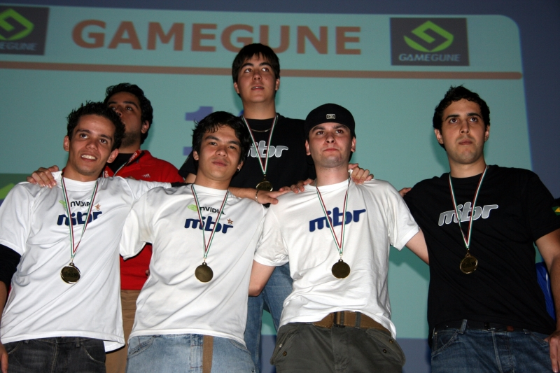 Made in Brazil, winners of GameGune 2008.