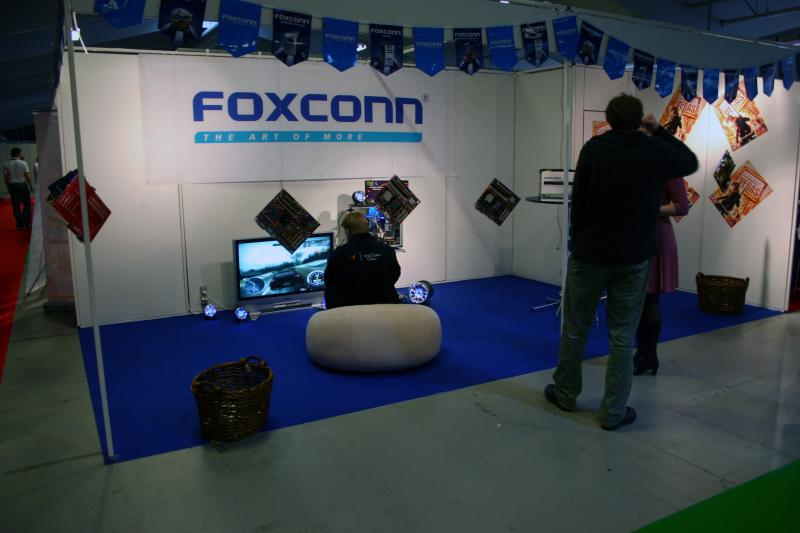 Foxconn booth