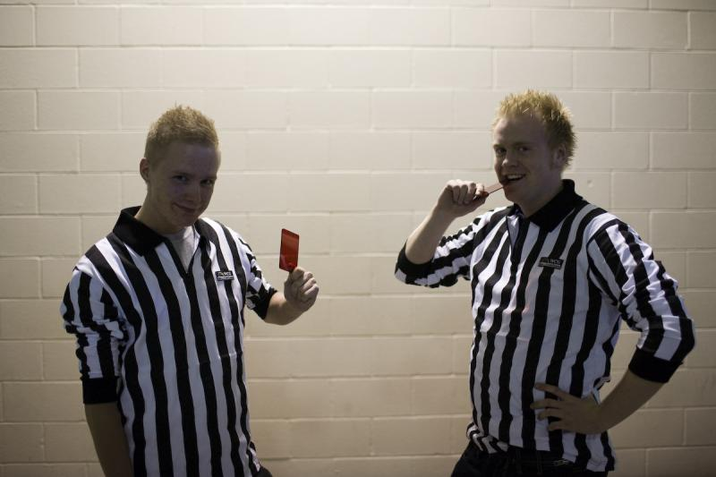 Nix0n and ruggah the referees