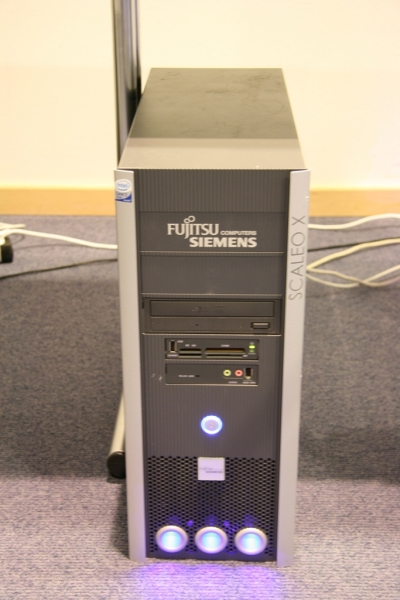 Fujitsu Siemens powering Extreme Masters II PC's.