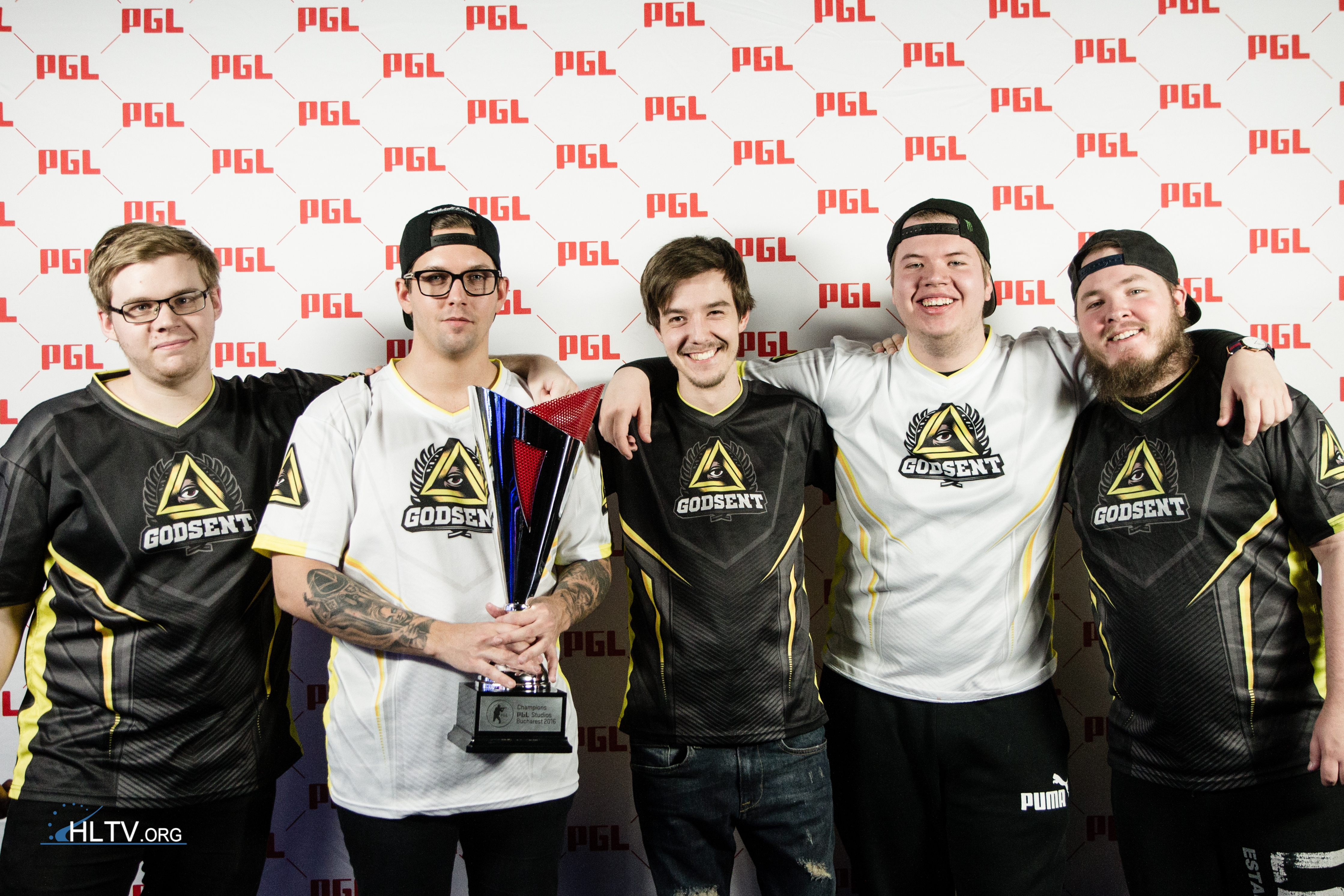 Team GODSENT (Photo by HLTV.org)