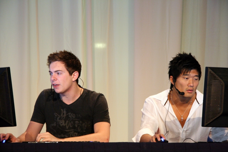 TosspoT and XeqtR the shoutcasters.