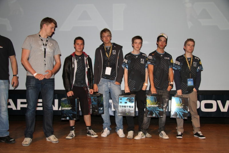 H2k Gaming finished in 2nd place