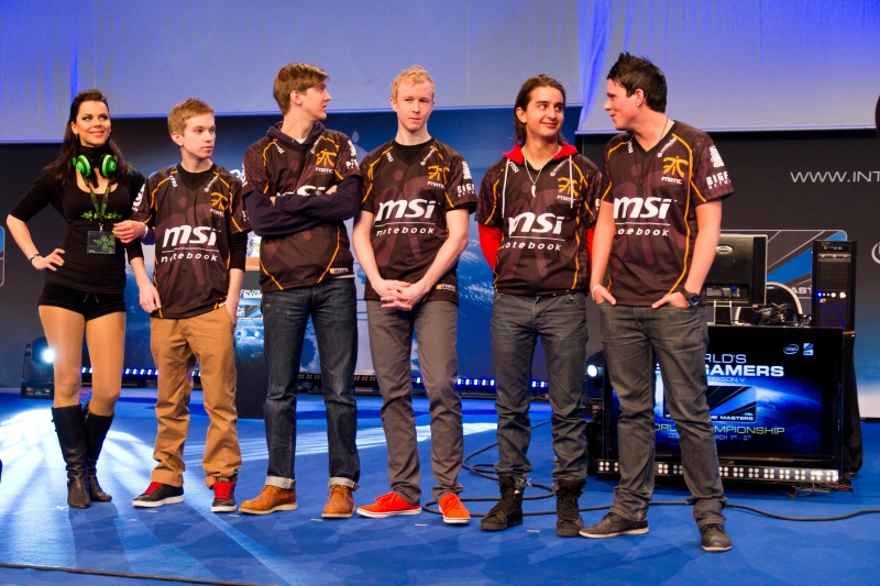 fnatic lined-up