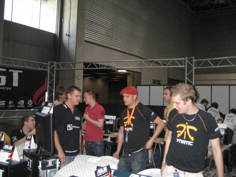 fnatic after the match vs TBH
