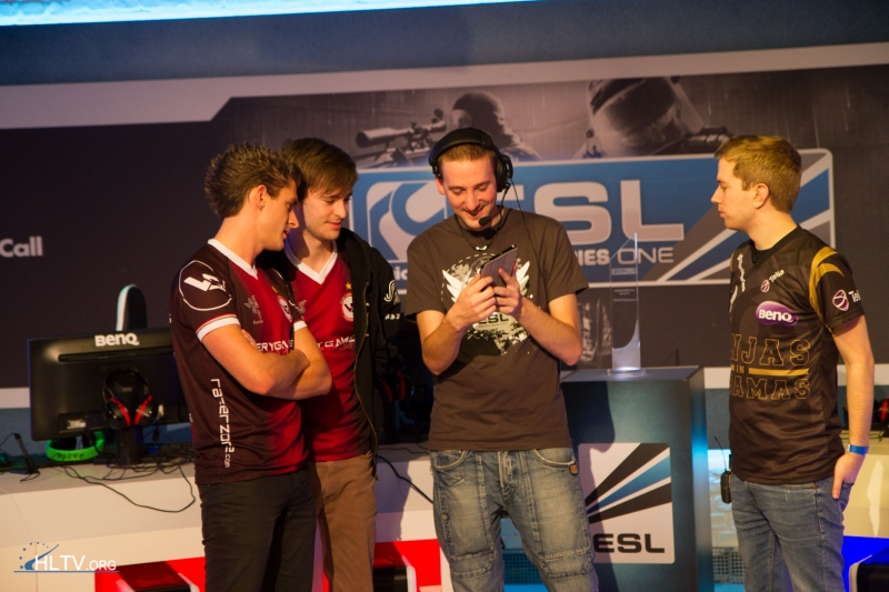 VeryGames and NiP vetoing maps before the grand final