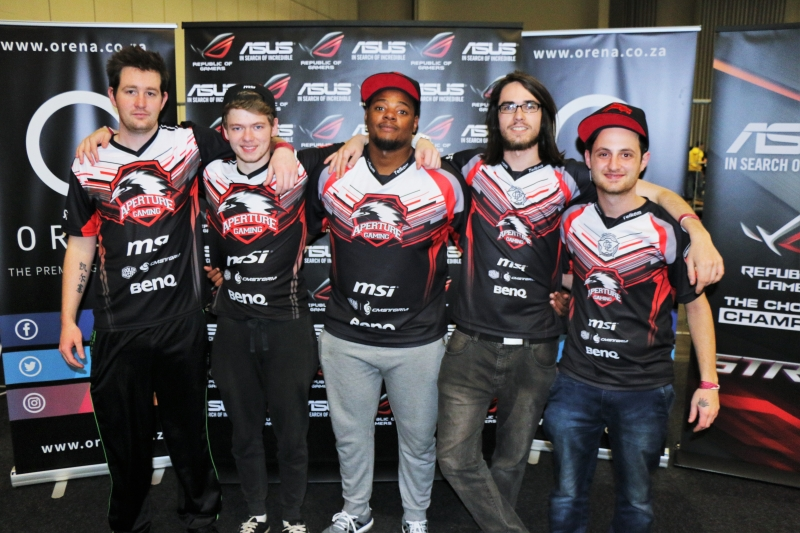 Aperture Gaming at ESWC 2016 South African Qualifier