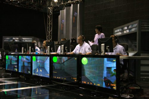 SK Gaming in action