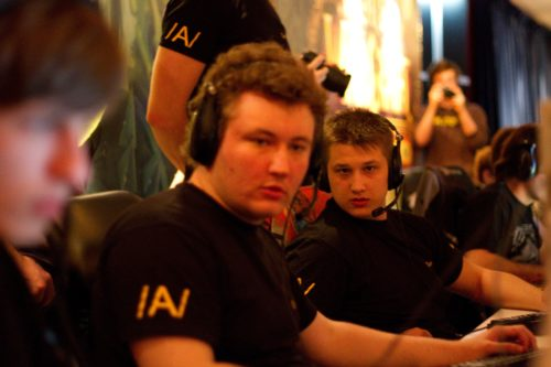 Edward and Zeus from Na`Vi