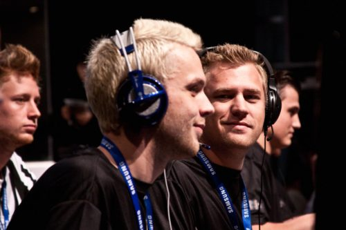 walle and RobbaN from SK Gaming