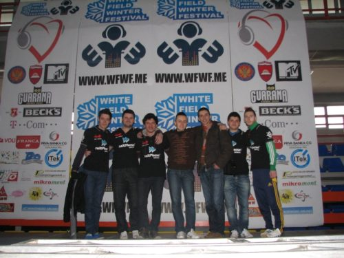 justinSane, MMb, WHitE, beZZZZ (main tournament organizer), Mike (neXtPlease! manager), PusE and cicic