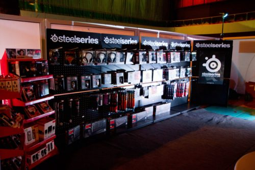 SteelSeries store at Adepto BH Open