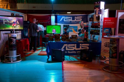 ASUS booth