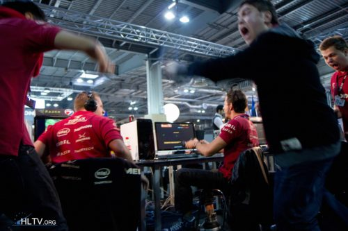 mousesports as they win against Virus Gaming