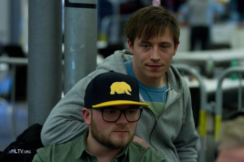 Copenhagen Wolves life style coach pops and TwAizZ, former manager for the Polish MYM