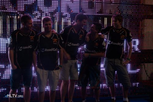 fnatic lining up