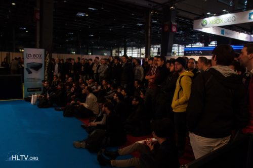 Some of the crowd at Paris Games Week