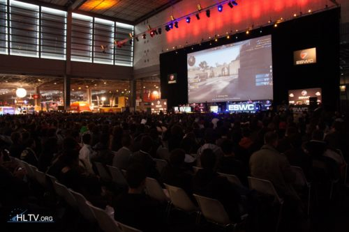Main stage at ESWC