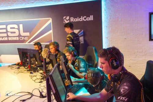 fnatic before their semi-final match vs. VeryGames