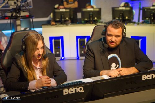 """the """"Panders"""" duo of casters"""