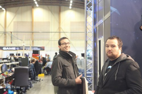 DHW 2013 caster duo Semmler and Anders