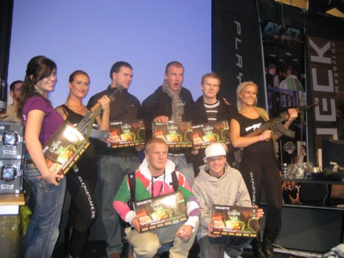 2nd place goes to Gravitas Gaming, prizes from GIGABYTE