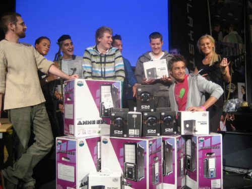1st prize goes to NoA, prizes from Coolermaster plus  KODE5 spot
