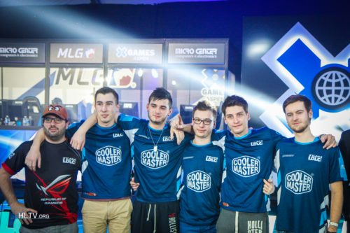 LDLC after winning MLG X-Games Aspen 2015