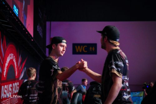 Maikelele and f0rest