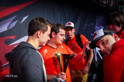HellRaisers claiming their 3rd place prize