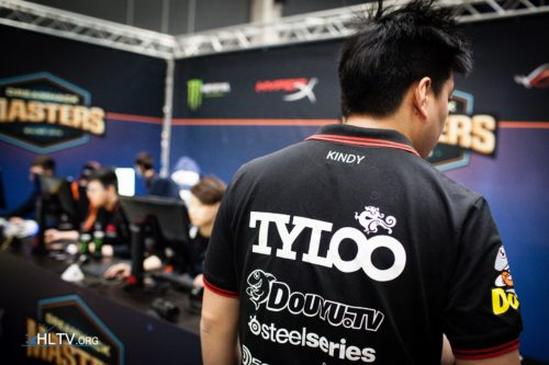 TyLoo's manager Kindy