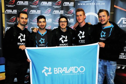 Bravado at ESWC 2016 South African Qualifier