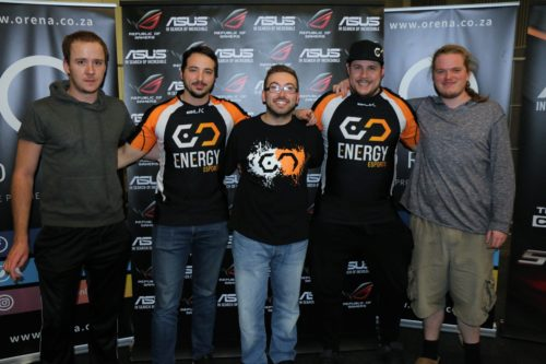 eNergy at ESWC 2016 South African Qualifier