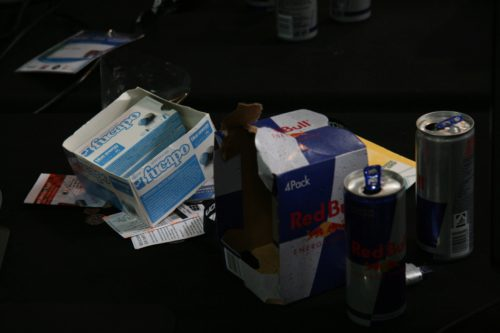 Pro gamers run on redbull and energi gum.
