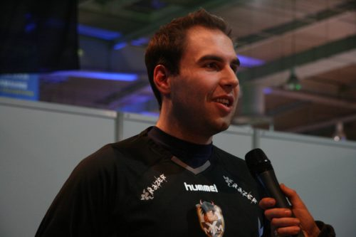 Taz from MYM being interview after the victory versus McPoker.emL.