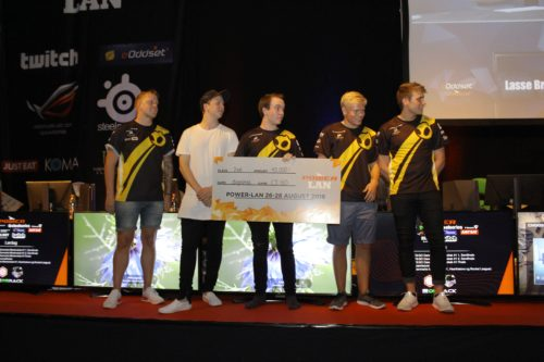 Dignitas awarded 2nd prize at POWER