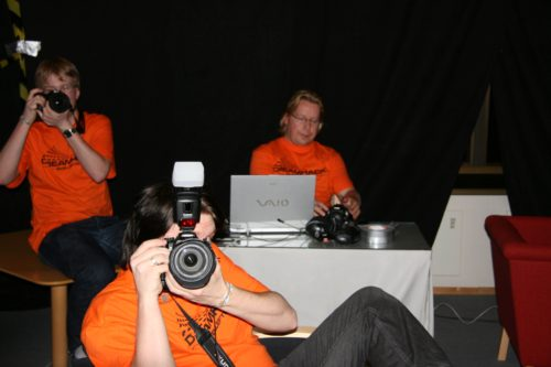 Crazy DreamHack photographers hunting me down.