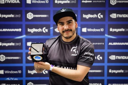 We presented coldzera with his HLTV MVP medal for ESL One Cologne 2016