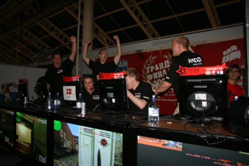 This is how you celebrate a win versus SK Gaming.