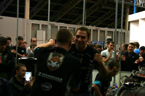 Some joy in MYM after taking home second map versus fnatic.