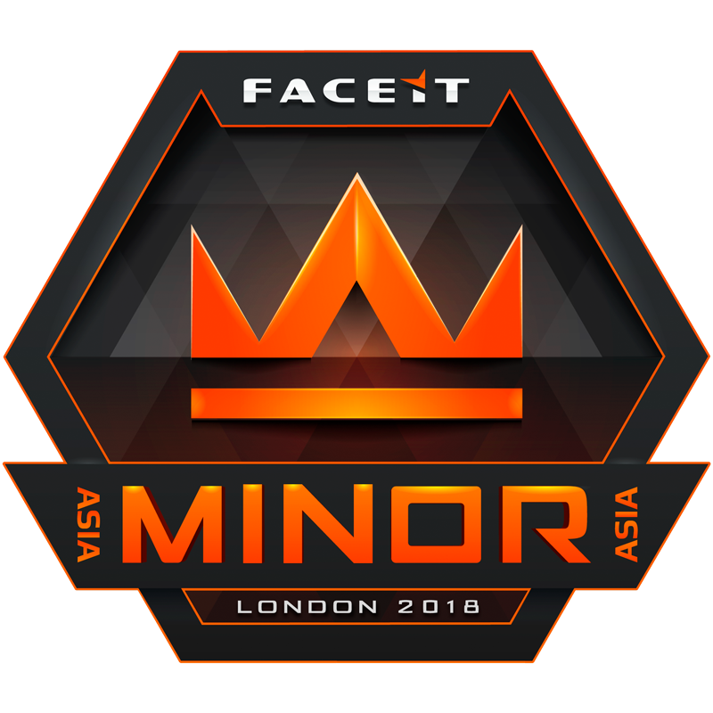 Asia Minor India, Pakistan & SEA Open Qualifier - FACEIT Major 2018