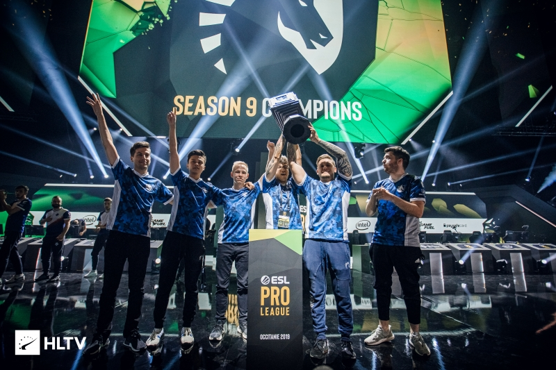 Team Liquid winning ESL Pro League Season 9